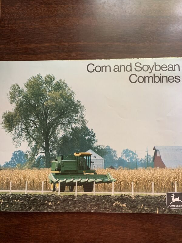 1974 John Deere Corn And Soybean Combines Sales Brochure