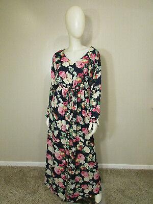 UMGEE Floral Print Maxi Dress-Size L