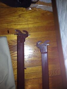 Bed Frame , md  brace, needs head and foot board, 20.00/OBO London Ontario image 3