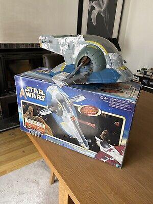 Hasbro 2001 Star Wars AOTC Attack of the Clones SLAVE 1 Jango Fett Vehicle BNIB