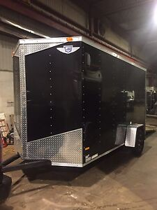 "2015 6x12 V-nose with ramp 6"" extra height"
