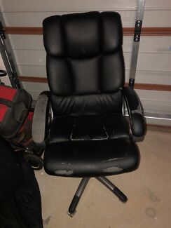 Free leather business office chair