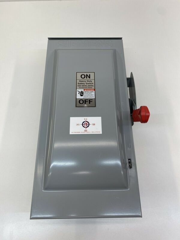 Siemens HF363R 100 Amp 600 Volt 3R Fusible Disconnect