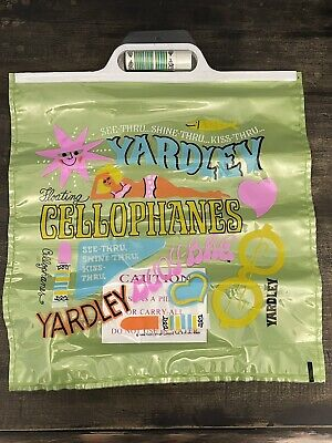 Vintage 1969 Yardley Floating Cellophanes Beach Pillow & Lipstick RARE/MINT