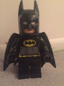 Batman LEGO DC Super Heroes Alarm Clock
