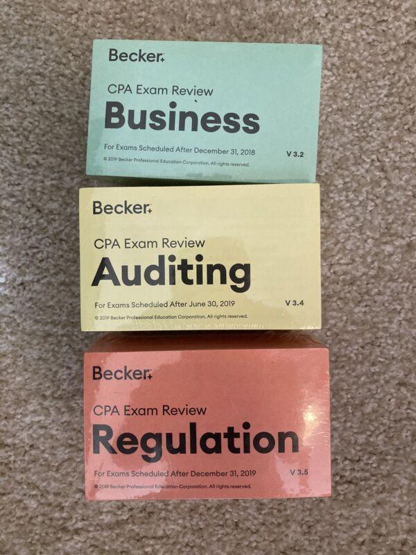becker cpa flashcards