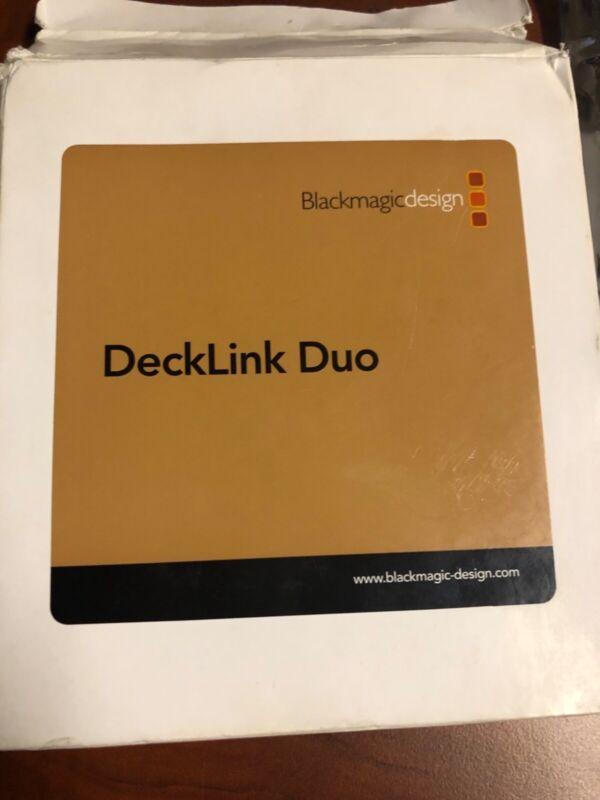 Blackmagic Design DeckLink Duo PCI-E Capture Card