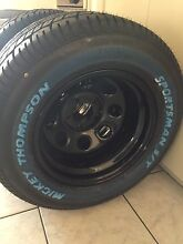 Brand new Cragar 15x10 soft 8 rims and Mickey Thompson 295/50/15 Hocking Wanneroo Area Preview