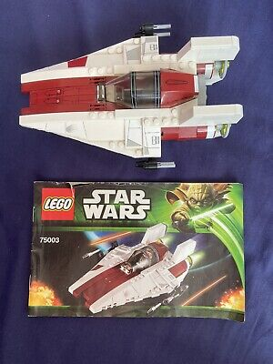 LEGO Star Wars 75003 A-Wing Starfighter **Ship & Manual Only**