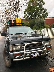 4X4 Nissan Terrano Turbo Diesel SUV VAN Camping Gear + Extras Melbourne CBD Melbourne City Preview