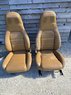 Mazda Mx5  Tan Leather  Seats IDEAL MGS TRS AND KIt Cars