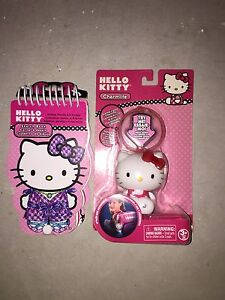 Hello Kitty Sketchbook and Charmlight