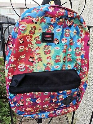 Vans Nintendo Mario Kart Backpack RARE Collectors
