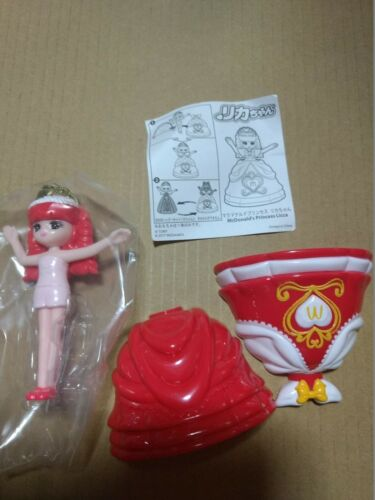 small figure of Licca-chan McDonald's Princess Licca version by McDonald's