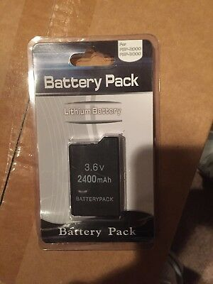 Battery for Sony PlayStation Portable PSP 2001 & PSP 3001 GET IT FAST US SHIPPER