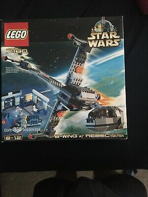 SEALED IN BOX LEGO Star Wars B-Wing At Rebel Control Center 7180