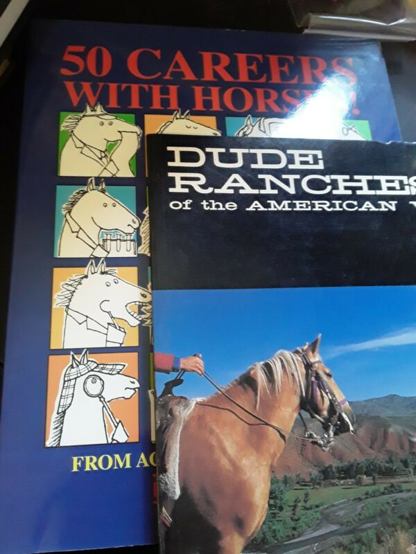 50 careers with horses and dude ranches