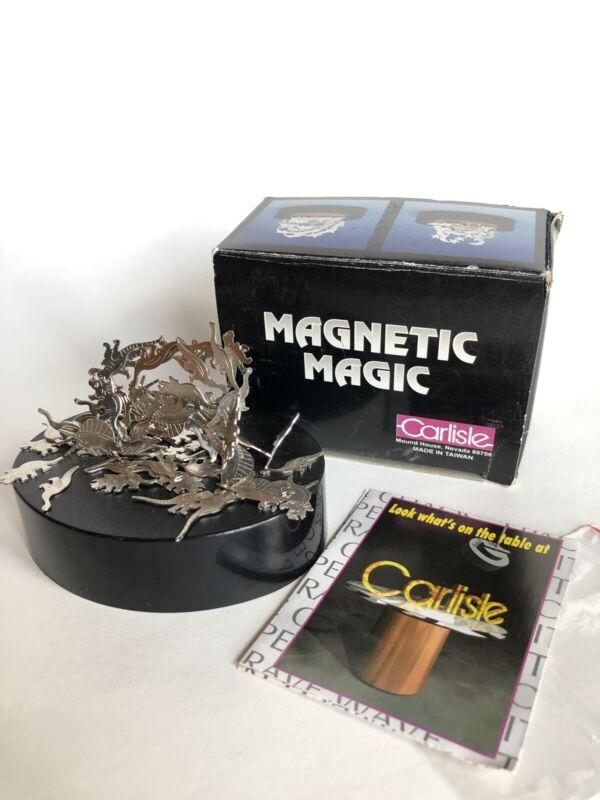 Carlisle Magnetic Magic magnet sculpture Dinosaur desk accessory Fidget Art