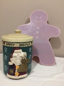 Xmas baking cookies jar and container