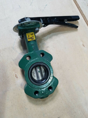 "2"" CENTERLINE BUTTERFLY VALVE new old stock"
