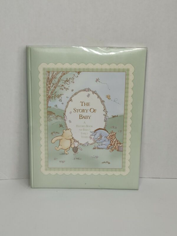 Vintage Disney's Winnie The Pooh Memory / Baby Book (Hard Cover)