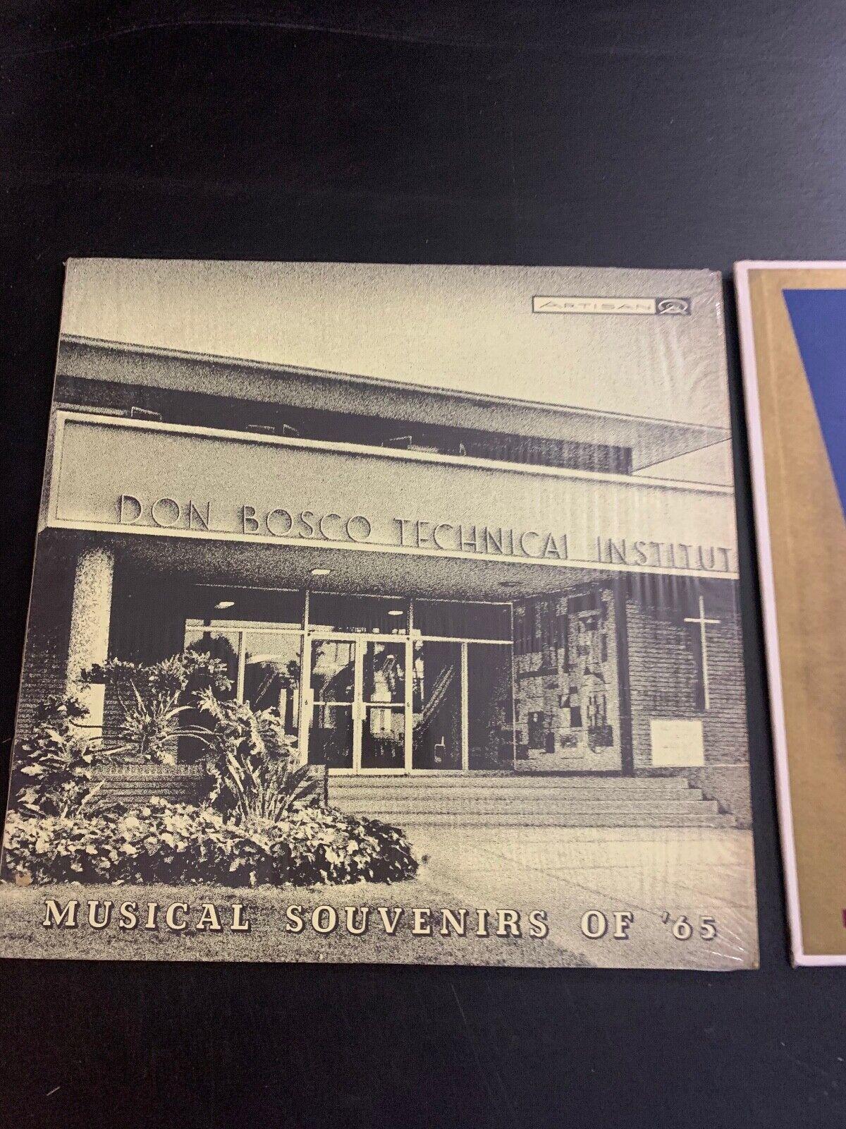 LP RECORD DON BOSCO TECH SCHOOL 1965 MUSICAL SOUVENIR - $9.99
