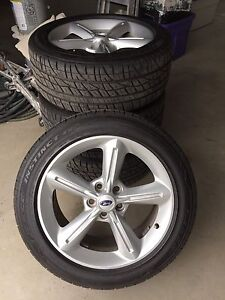 Reduced! Mustang tires and rims