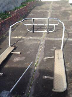 Pajero aluminium roo bar Hamersley Stirling Area Preview