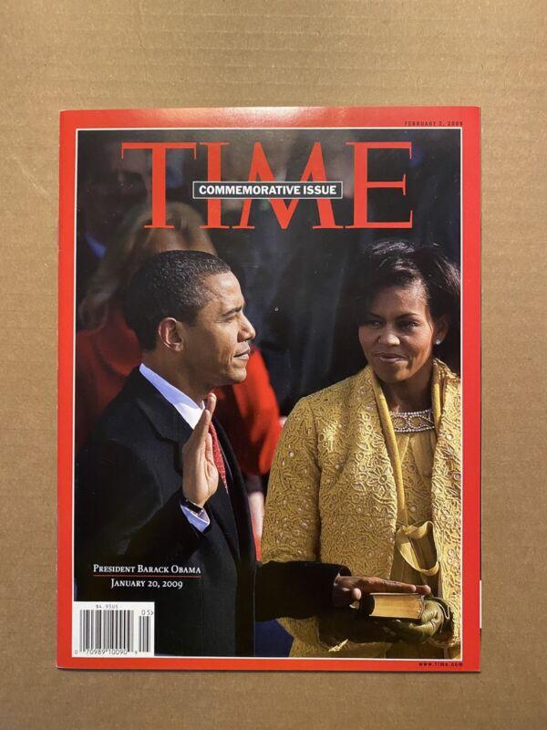 Time Magazine Commemorative Issue 2009 February 2 Barack Obama Inauguration