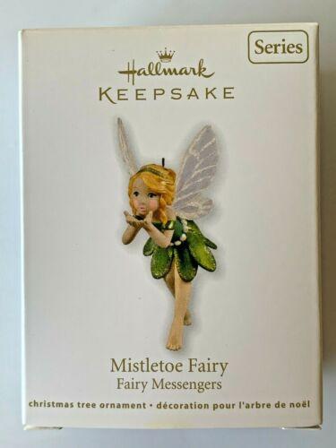 Hallmark Keepsake 2011 MISTLETOE FAIRY Fairy Messengers Series #7 Ornament