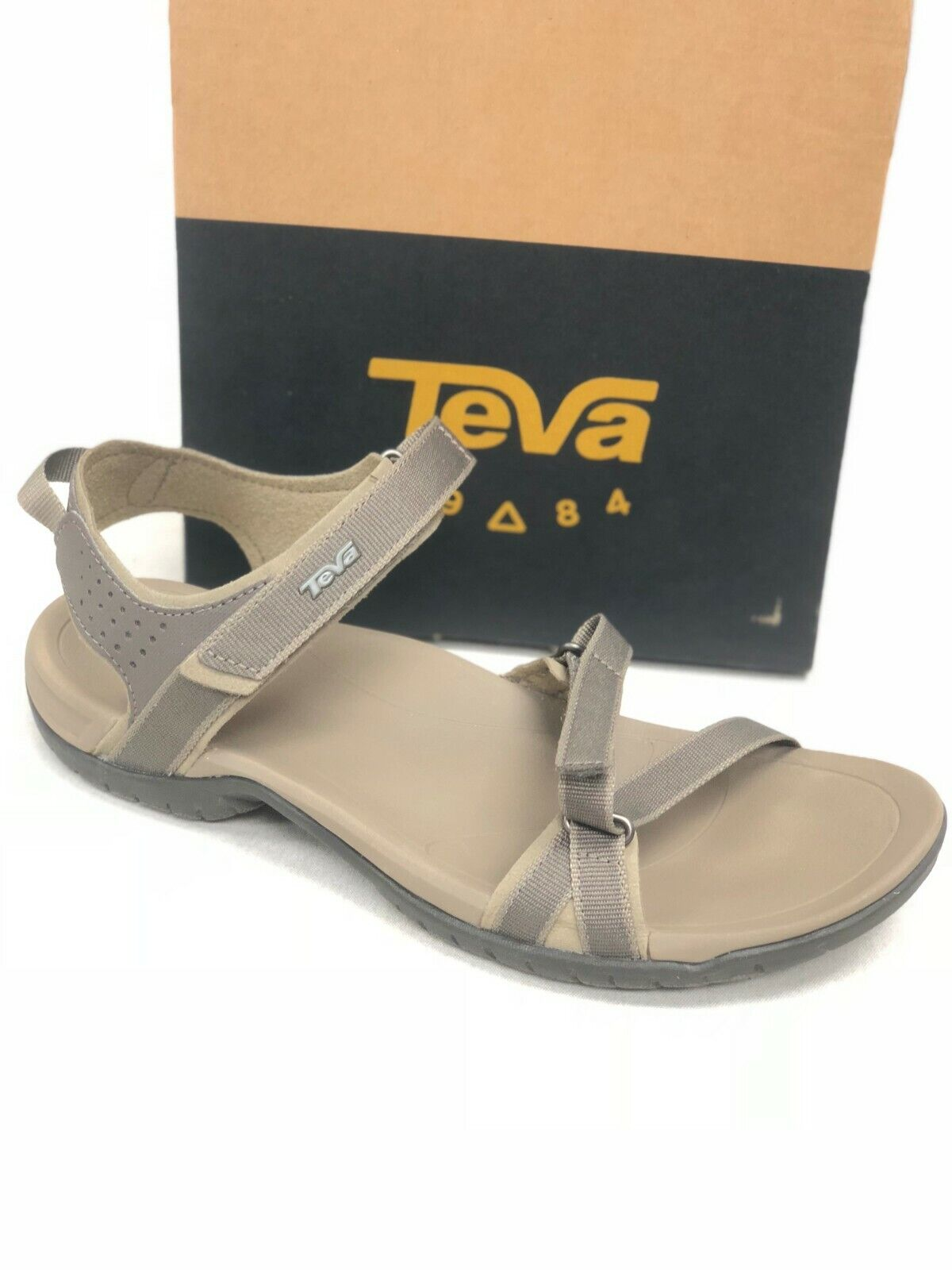 Teva Women's Verra Sandals Bungee Cord Tan Hiking Sport 1006263 Strappy