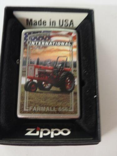 Rare Limited Edition Farmall Model 656 Zippo Lighter