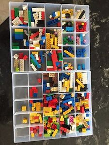 Lego and sort boxes