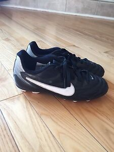Size 1 Nike Cleats