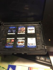 playstation vita game card 14 ,100cad all
