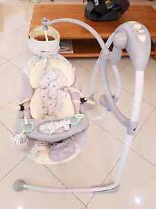 Baby swing- bright starts Kellyville Ridge Blacktown Area Preview