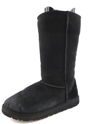 UGG Australia 5229Y Authentic Classic Black Suede Tall Boots Kids Size 6 - Ugg Boots Kids