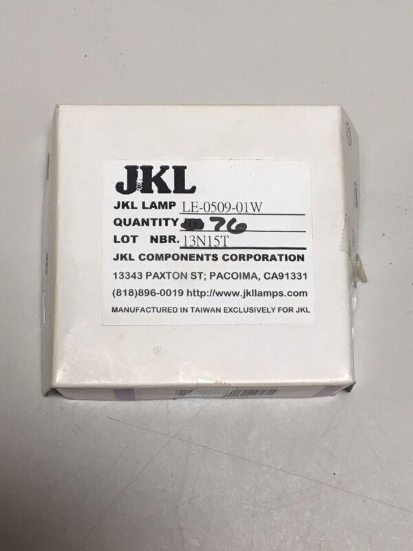 JKL Lamp bulb LE-0509-01W 76 PCS New