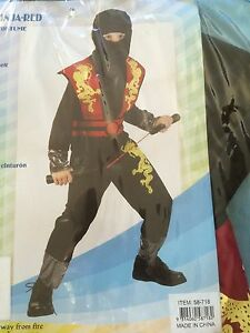 New and still in packaging Ninja fancy dress costume / Halloween Baldivis Rockingham Area Preview