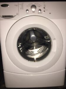 Free front load washer