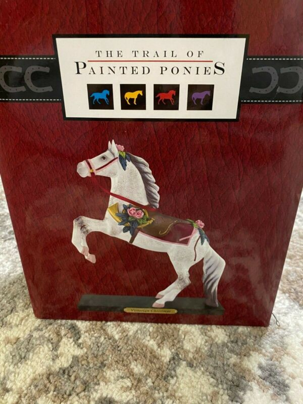 "Trail of Painted Ponies "" Victorian Christmas"" 4022391 Original Packaging"
