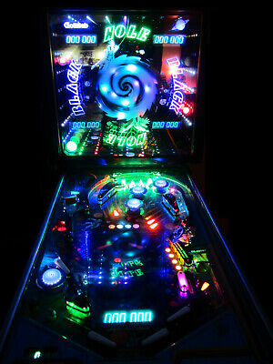 BLACK HOLE Pinball Machine GOTTLIEB 1981 (Custom LED & Excellent)