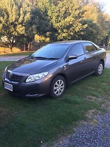 2009 Toyota Corolla Ascent Sedan, 6 sp manual Mole Creek Meander Valley Preview