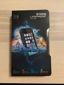 Black life proof case for iPhone 5s