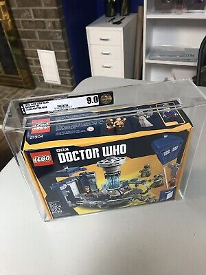 LEGO Dr. Who 21304 Set AFA Graded 9.0 New Mint (Doctor) Lego Ideas RARE