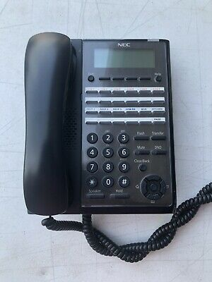 Nec Sl2100 24 Button Digital Display Phone Ip7ww-24txh-b1