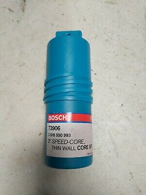 Bosch T3906 2 Speed Core Thin Wall Core Bit Made In Japan