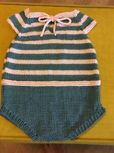 NEW Baby knits - summer romper