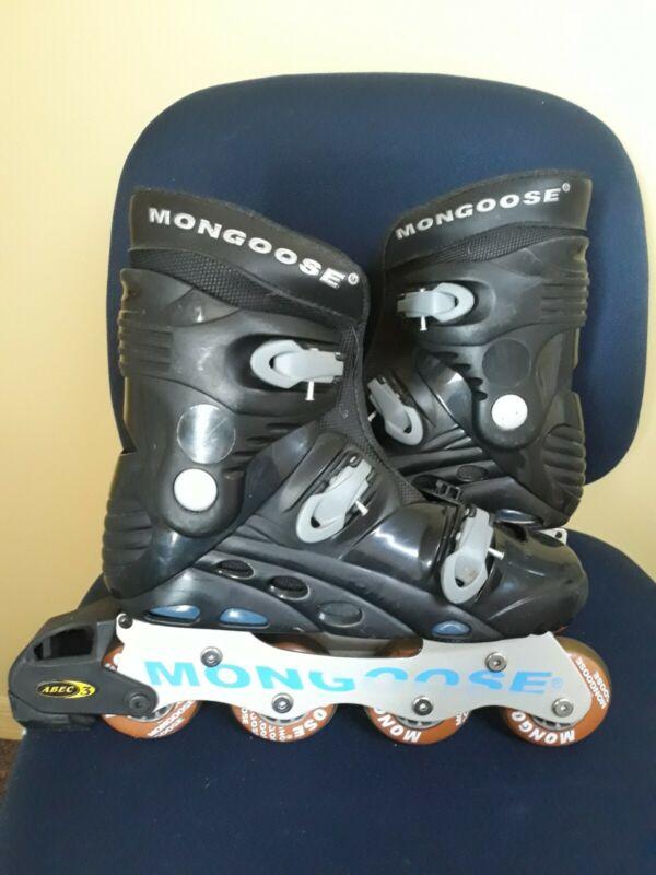 Mongoose rollerblades inline skates Womens Size 8 ABEC 3