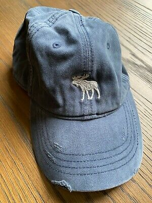 Abercrombie and Fitch, Men's Hat, Blue, One Size